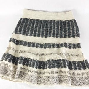 Sparrow x Anthropologie Circle Sweater Skirt